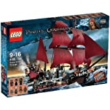 LEGO Pirates des Caraïbes - 4195 - Jeu de Construction - La Revanche du Queen Anne