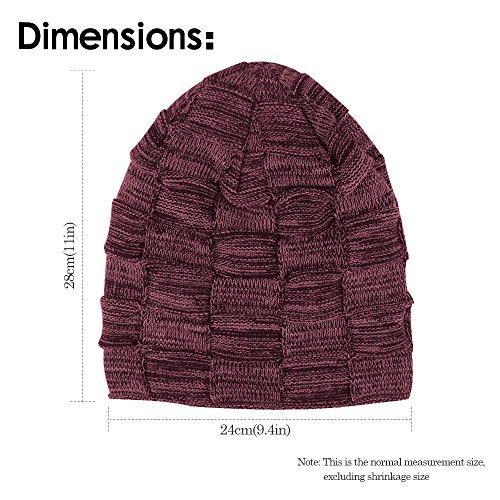 de slouch ONSON cesta suave Gorro polar beanie forro Gorro invierno tip de interior Negro con de de invierno tipo punto vI8n7IwqCx