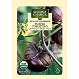 Seeds of Change 01179 Certified Organic Tomatillo, Purple