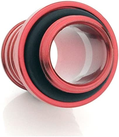 Deep Blood Red Bitspower G1//4 to 7//16 Barb Fitting for Soft Tubing 4-Pack