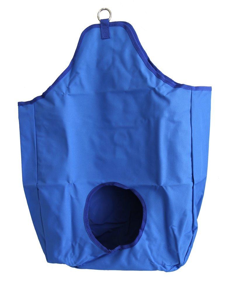AJ Tack Wholesale Horse Feeding Hay Bag Solid Panel 600D PV Coated Canvas Nylon Royal Blue