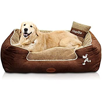 Amazon.com : BarksBar Large Gray Orthopedic Dog Bed - 40 x