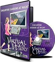 Virtuelle Spaziergänge - Gärten Singapur bei Nacht Laufband und radfahren