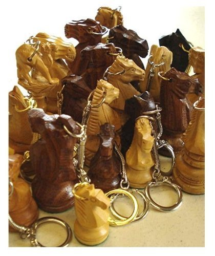 Wood Knight Keychain Key Keychain Knight Ring Key B00EDPANI2, ナカタドグン:d6302944 --- awardsame.club