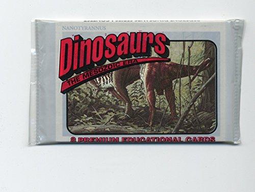 Dinosaurs The Mesozoic Era Premium Educational Cards (Mesozoic Era Dinosaur)