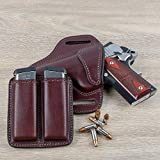Relentless Tactical Leather Double Magazine Holder