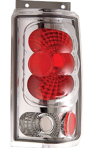 IPCW CWT-CE510BC Crystal Eyes Crystal Clear Tail Lamp - Pair
