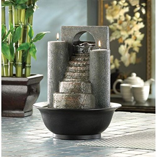 Gifts & Decor Eternal Steps Decorative Water Fountain by Furniture Creations by Furniture Creations