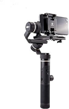 Heaviesk Feiyu Soporte para teléfono móvil Soporte de Montaje Clip Adaptador para Feiyu G6 Plus Cámara de acción Gimbal Clamp Holder para iPhone X: Amazon.es: Juguetes y juegos