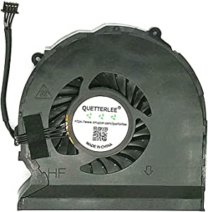 QUETTERLEE Replacement New Laptop CPU Cooling Fan for HP Zbook 15 G1 Zbook 15 G2 Series 734290-001 734289-001 AB07505HX170B00 DFS531005PL0T FC7V Fan