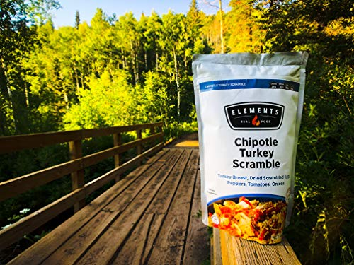 Elements Meals | Chipotle Turkey Scramble | 10-Pack | Healthy Freeze Dried Meals | Paleo-Friendly | Delicious, Backpacking and Camping Food | High Protein | Just Add Water by Elements (Image #2)