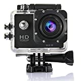 Indigi WiFi Enabled 4K Full HD Waterproof Sports Action Camera Camcorder [ 1.5″ LCD + Wide Angle Lens + Mounts Included + 4K 1080p 720p Recordings & 12MP Camera ] Review