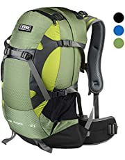 TFO External Frame Hiking Backpack 40L Breathable Waterproof Rain Cover Lightweight