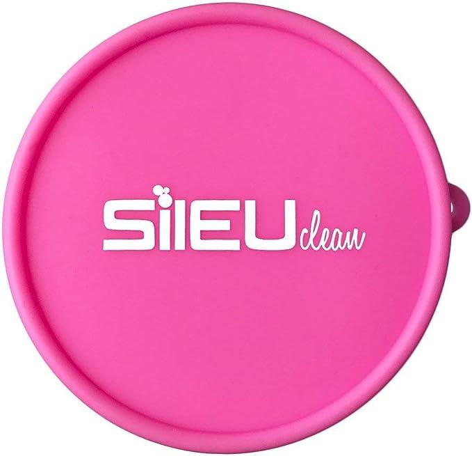 Copa Menstrual Sileu Cup Classic - 12 horas de protección sin fugas ni pérdidas - Según modelo puede escoger flexibilidad blanda normal rígida - Talla ...