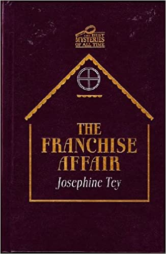 The Franchise Affair Josephine Tey Amazon Books
