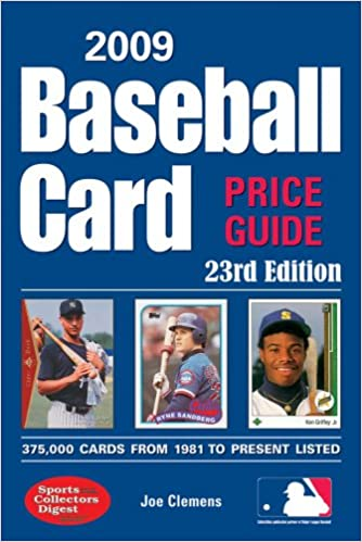 2009 Baseball Card Price Guide