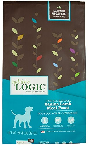 NATURE'S LOGIC Canine Lamb Meal Feast, 26.4lb