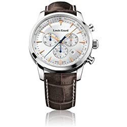 Louis Erard Heritage Collection Swiss Quartz Silver Dial Men's Watch 13900AA11.BDC101