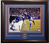 Odell Beckham Jr Signed 16x20 The Catch Photo Framed w/ Giants Coin Auto JSA