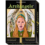 Archangels Oracle by Adriano Buldrini, Hard Box Set with 22 Inspirational Cards and Multilingual Guidebook by Green Cross Toad