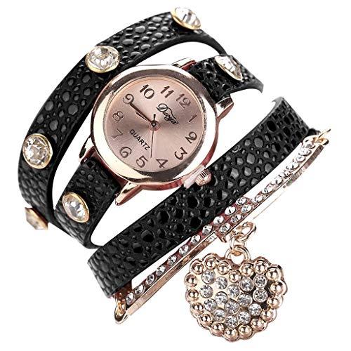 Bracelet Watches for Women,LYN Star❀ Fashion Analog Quartz Bangle Cuff Bracelet Wrist Watch, Unique Elegant Watch -