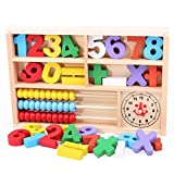 BUBASON Children Wooden Numbers Mathematics Early Learning Counting ...