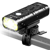 Sahara Sailor Front Bike Light USB Rechargeable - Super Bright 800 Lumens Aluminum Alloy IPX6 Waterproof Bicycle Light Supports Wired Remote Control - Fits ALL Bicycles, Road, MTB