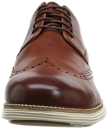 Mens Cole Originale In Vera Pelle Di Bufalo Oxford Woodbury / Avorio