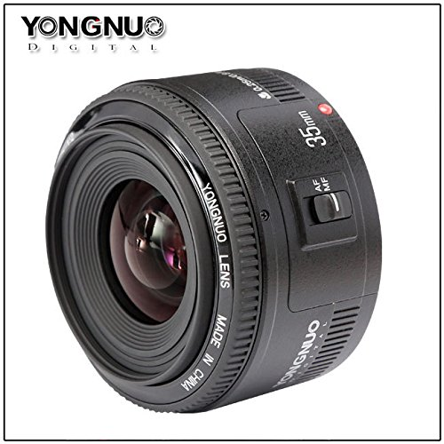 YONGNUO製 単焦点広角レンズ 35mmF2レンズ Canon対応 大口径 (YN35mmF2レンズ)の商品画像