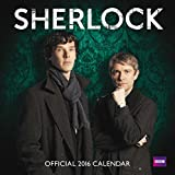 The Official Sherlock 2016 Square Calendar