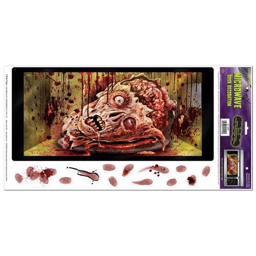 Beistle Halloween Microwave Door Decoration, 12-Inch by 24-Inch ()