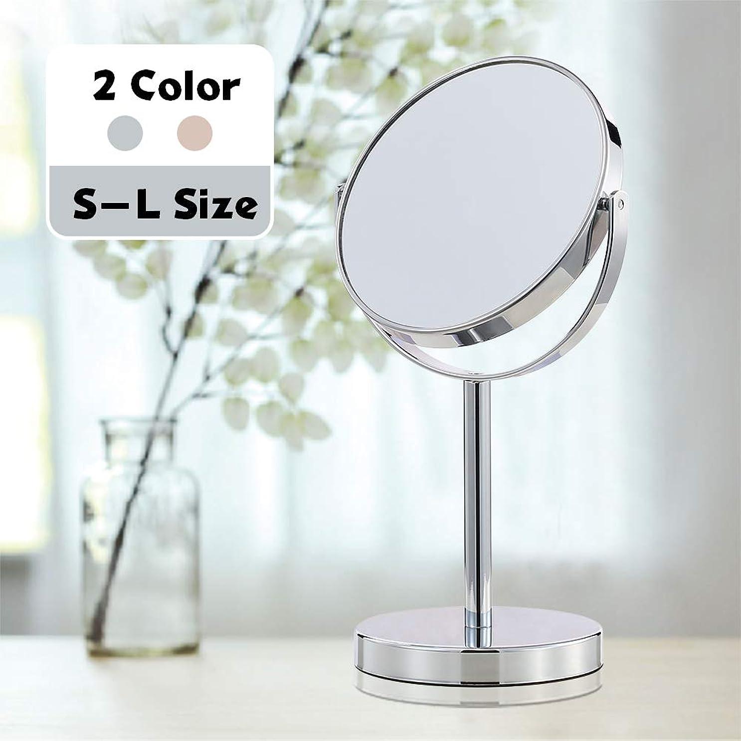 勇気大理石フラッシュのように素早く手鏡 化粧鏡 HAMSWAN コンパクトミラー 軽量 10倍拡大鏡 丸型 10cm*1.3cm(ブラック)