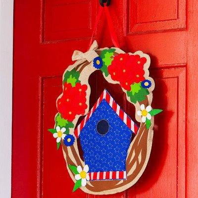 Patriotic Welcome Door Hanger