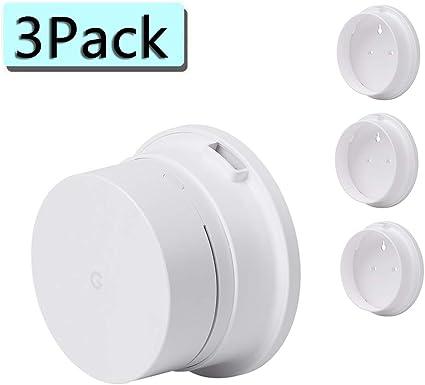 Holaca - Soporte de pared / techo para sistema «Google Wifi» 3PACK ...