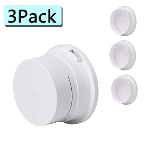 Koroao Wall Mount Holder for Google WiFi System, Ceiling Bracket Stand for  Google WiFi (3 Pack)