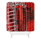DENY Designs Aimee St Hill Phone Box Shower Curtain, 69-Inch by 72-Inch