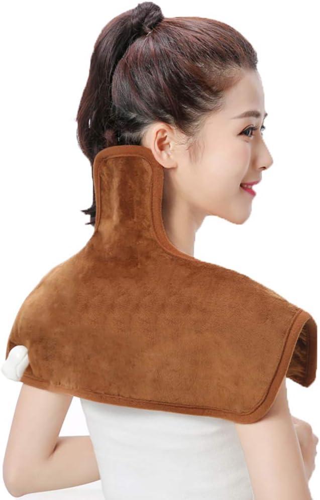 Hombro de protección de calefacción eléctrica hombro cervical caliente comprimir manga cuello correa AI hombro de sal caliente para dormir hombre y mujer mediana edad cuidado del hombro