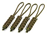 Knife Lanyard 4 Arid Digital Paracord With Bronze Skull Bead