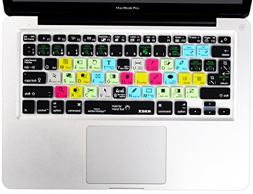 Adobe InDesign Keyboard Silicone Skin Cover for MacBook, MacBook Air & MacBook Pro 13, 15, 17