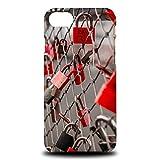 Foxercase Designs Cute Couple Lock Lockett Hard Back Case Cover for Apple iPhone 7