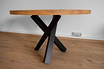 Ktc Tec Armature De Table En Acier Noir Mat Structure Tres Table