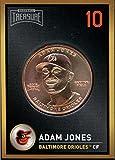 Adam Jones 2018 Baseball Treasure MLB Coins Copper Baltimore Orioles FD3199
