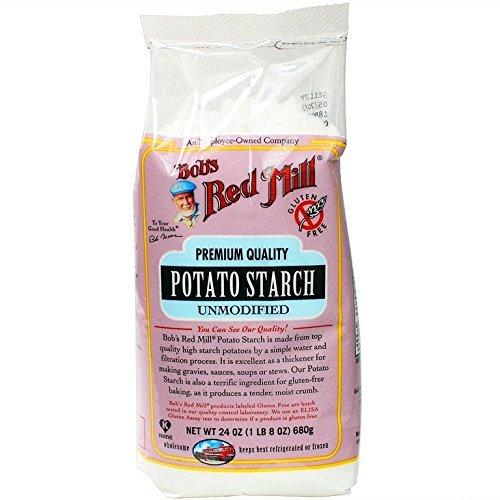 Bob's Red Mill - Premium Unmodified Potato Starch, 24 Ounces (Pack of 4)