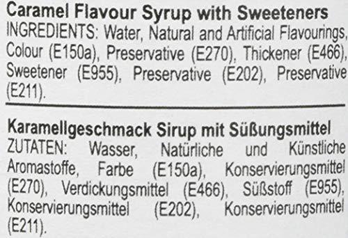 Jordan's Skinny Gourmet Syrups Sugar Free, Caramel, 25.4-Ounce