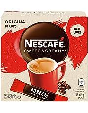 NESCAFÉ Sweet and Creamy Original Instant Coffee Mix Box, Original, 6 pack