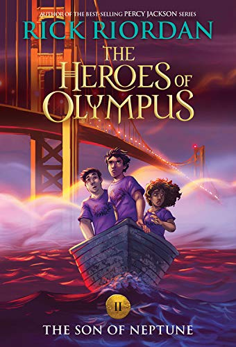 The Heroes of Olympus, Book Two The Son of Neptune (new cover) (The Book Of Olympus)