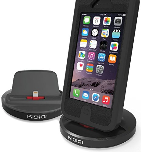 KIDIGI Rugged CASE Charger SYNC Cradle Docking Station for iPod Touch 5 6