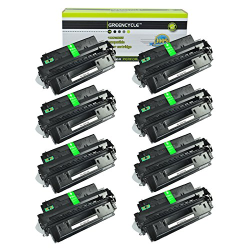 GREENCYCLE Toner Cartridge Replacement for HP Q2610A 10A High Yield 6,000 Pages Compatible for HP Laserjet 2300 2300d 2300dn 2300dtn 2300L 2300n (8 Black) ()