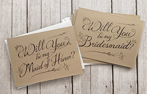 5-pack-will-you-be-my-bridesmaid-cards-4-maid-of-honor-card-1-assortment-pack-of-5-kraft-rustic-wedd