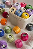 DMC 116 8-704 Pearl Cotton Thread Balls, Bright